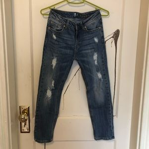 7 for All Mankind Girlfriend Jeans